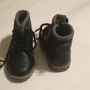 Toddler boy black boot